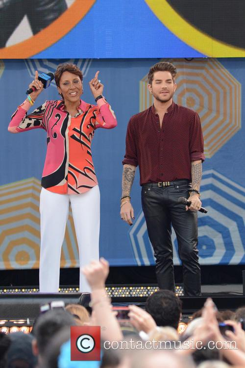 Robin Roberts and Adam Lambert 2