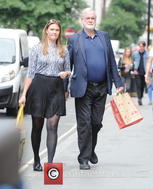 John Cleese seen out in London