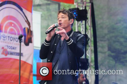 Nate Ruess performs for the 'Today' show's Toyota...