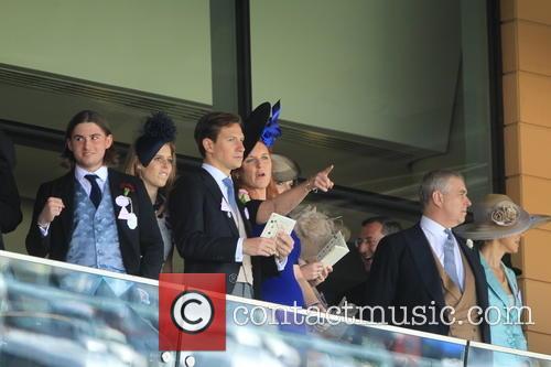 Prince Andrew, Duchess Of York, Sarah Ferguson, Princess Beatrice and Princess Eugenie 1
