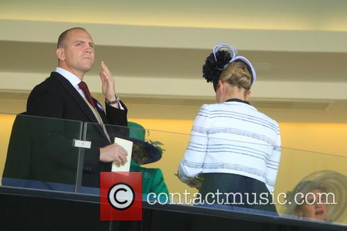 Mike Tindall and Zara Phillips 1