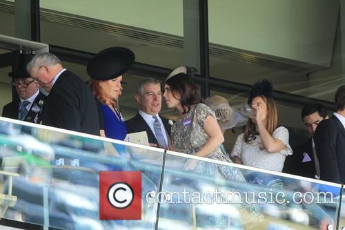 Duchess Of York, Sarah Ferguson, Princess Beatrice, Princess Eugenie and Prince Andrew 1