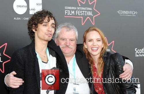 Robert Sheehan, David Blair and Tamzin Merchant 2