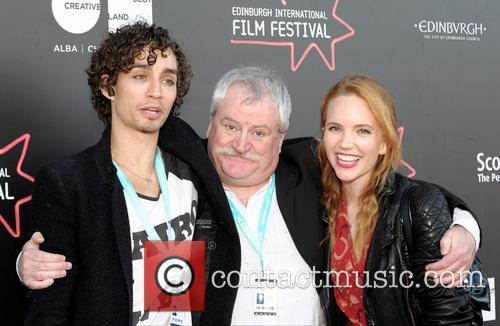 Robert Sheehan, David Blair and Tamzin Merchant 3
