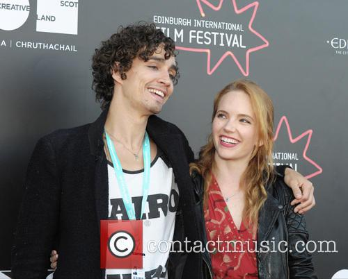 Robert Sheehan and Tamzin Merchant 5