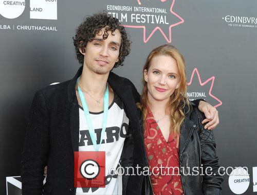 Robert Sheehan and Tamzin Merchant 6