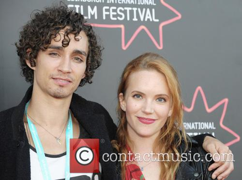 Robert Sheehan and Tamzin Merchant 1