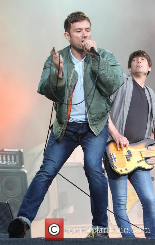 Blur, Damon Albarn and Alex James 6