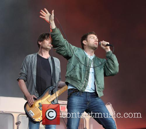 Blur, Damon Albarn and Alex James 10
