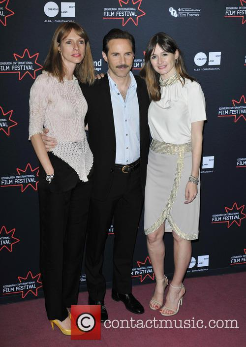 Dolly Wells, Alessandro Nivola and Emily Mortimer 2