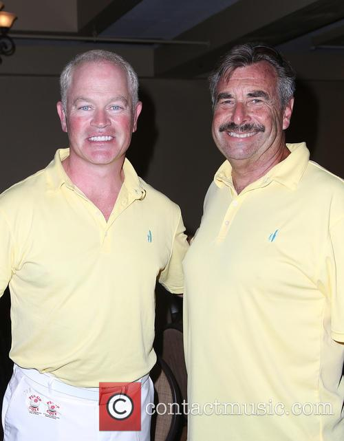 Neal Mcdonough and Lapd Chief Charlie Beck 6