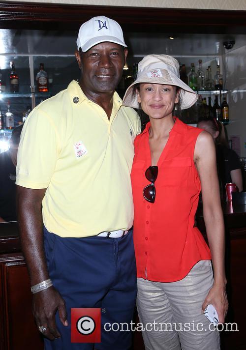 Dennis Haysbert and Anne-marie Johnson 7