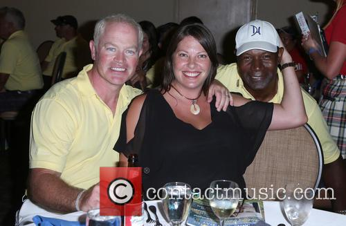 Neal Mcdonough, Ruve Mcdonough and Dennis Haysbert 9
