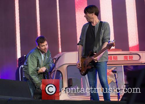 Damon Albarn, Alex James and Blur 8
