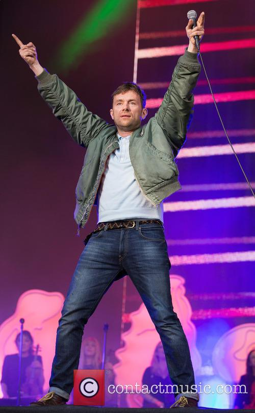 Damon Albarn and Blur 9