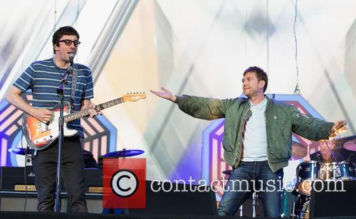 Graham Coxon, Damon Albarn and Blur