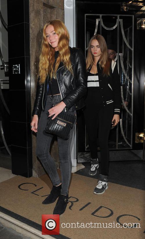 Clara Paget and Cara Delevingne 3