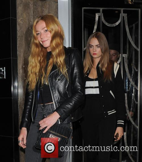 Clara Paget and Cara Delevingne 4