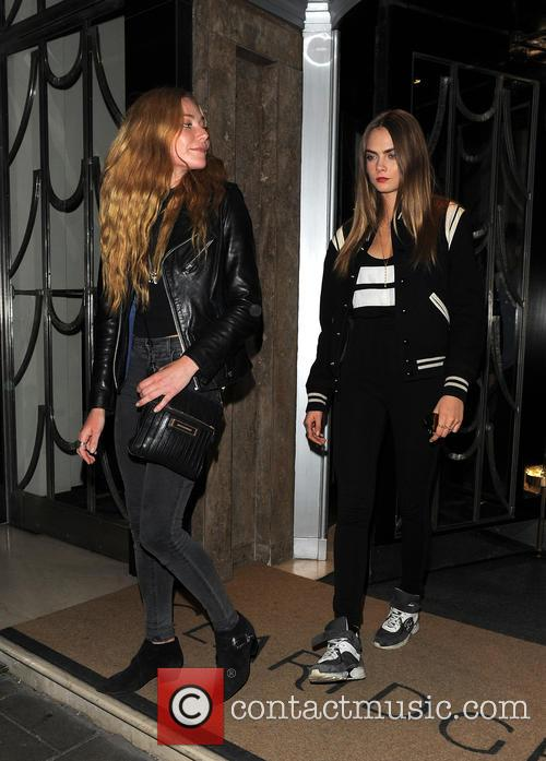 Clara Paget and Cara Delevingne 5