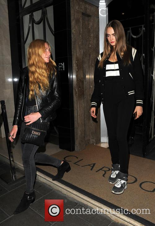 Clara Paget and Cara Delevingne 6