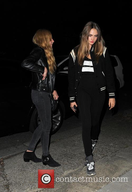 Clara Paget and Cara Delevingne 7