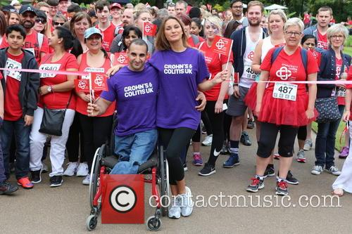 TOWIE star Sam Faiers and Paralympian Ali Jawad...