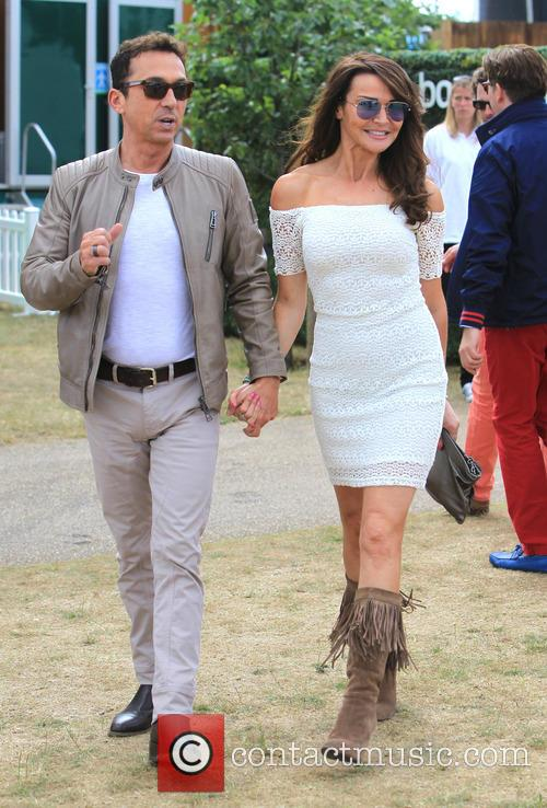Bruno Tonioli and Lizzie Cundy