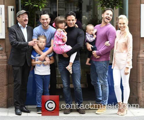 Dougie Tomas, Bruno Langley, Ryan Thomas, Adam Thomas and Caroline Daly 4