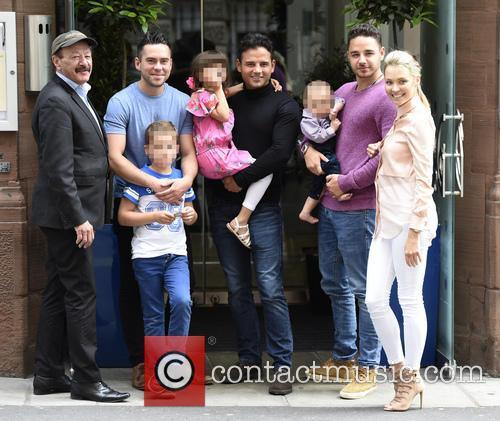 Dougie Tomas, Bruno Langley, Ryan Thomas, Adam Thomas and Caroline Daly 1