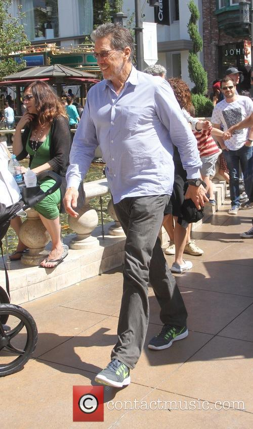 EXCLUSIVE Tim Matheson goes shopping at The Grove