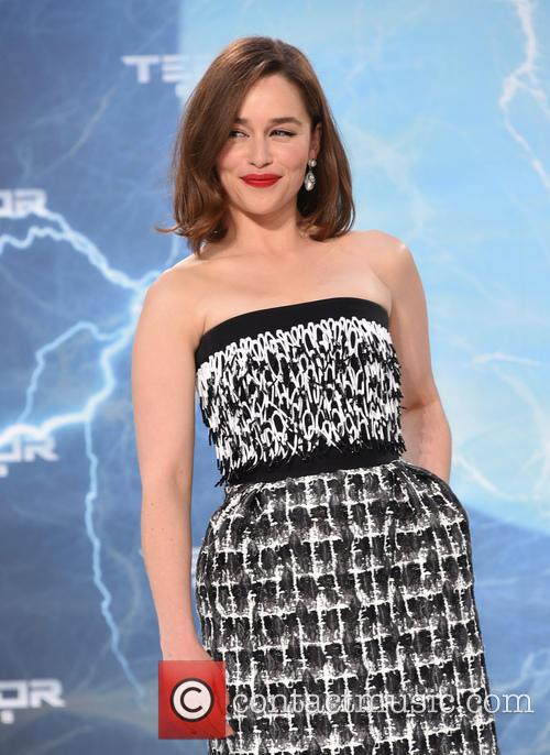 Emilia Clarke at the Berlin premiere of Terminator Genisys