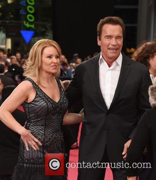 Arnold Schwarzenegger and Heather Milligan 2