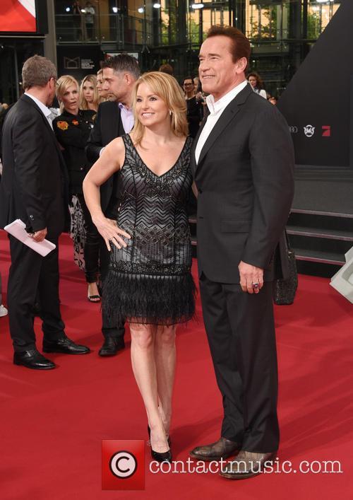 Arnold Schwarzenegger and Heather Milligan 3