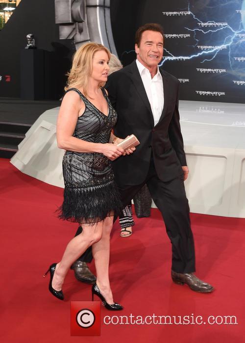 Arnold Schwarzenegger and Heather Milligan 4