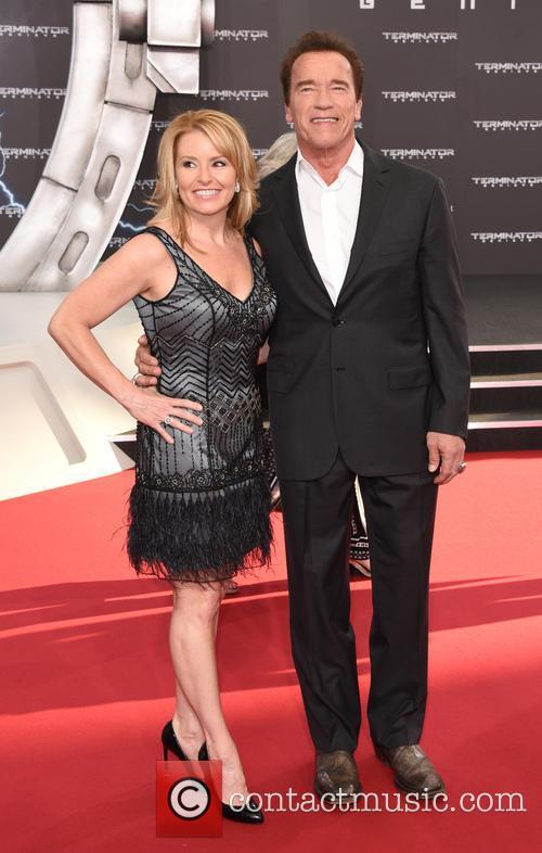 Arnold Schwarzenegger and Heather Milligan 1