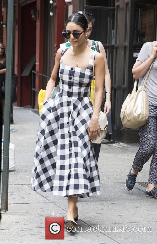 Vanessa Hudgens on her way to see 'Gigi'