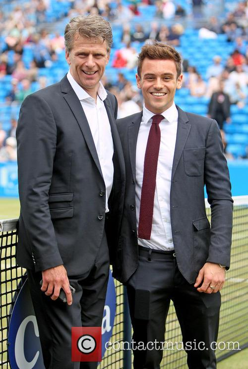 Tom Daley and Andrew Castle 5