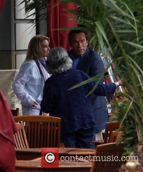 Arnold Schwarzenegger and Heather Milligan 8