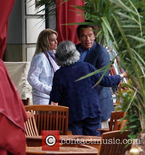 Arnold Schwarzenegger and Heather Milligan 9