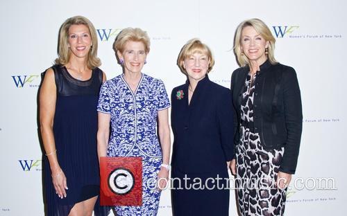 Ami Kaplan, Emily Rafferty, Linda A. Willett and Deborah Norville 3