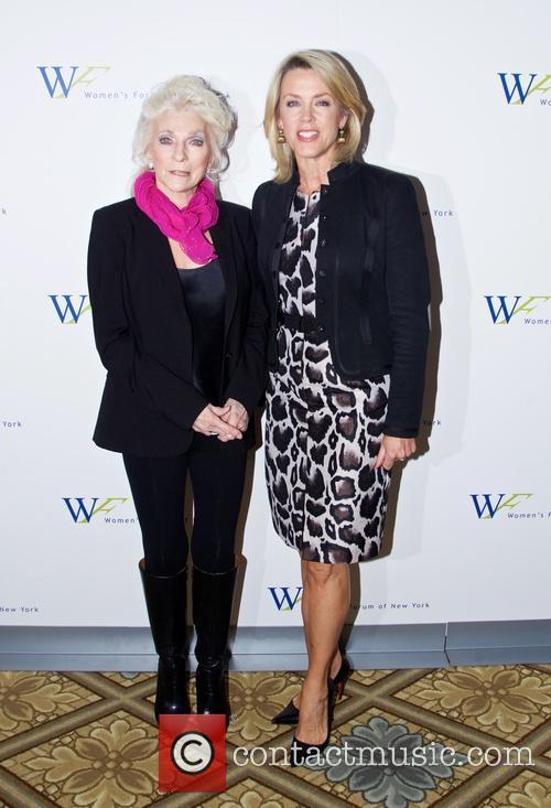 Judy Collins and Deborah Norville 4