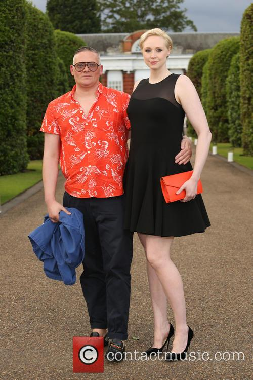 Gwendoline Christie and Giles Deacon 2