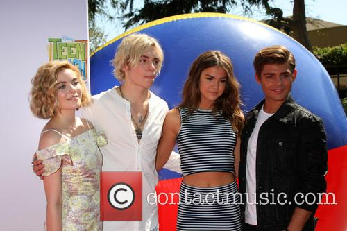 Grace Phipps, Ross Lynch, Maia Mitchell and Garrett Clayton 2