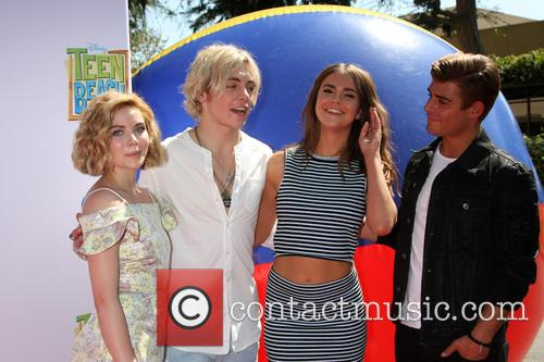 Grace Phipps, Ross Lynch, Maia Mitchell and Garrett Clayton 3