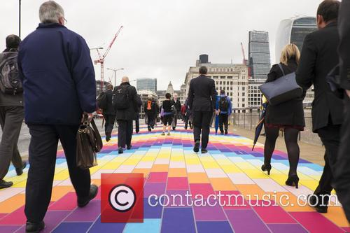 Monday Commuters Delighted by London Bridge's Transformation into...