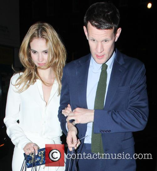 Lily James and Matt Smith 6