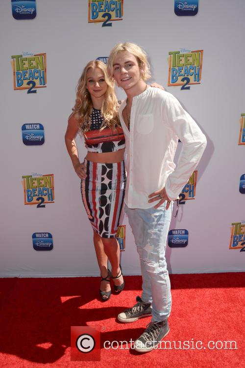 Mollee Gray and Ross Lynch 1