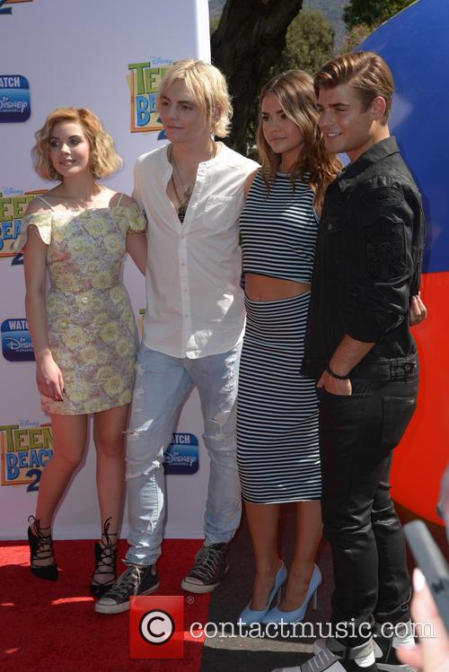 Grace Phipps, Ross Lynch and Maia Mitchell 7