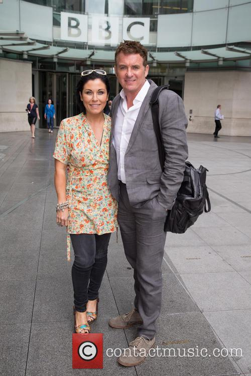Shane Richie and Jessie Wallace 2