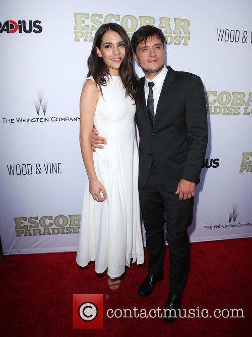 Claudia Traisac and Josh Hutcherson 4